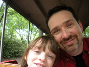 Anna and me at Zoo Atlanta
