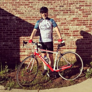 James with Trek Domane 5.2