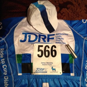 My JDRF Ride Gear