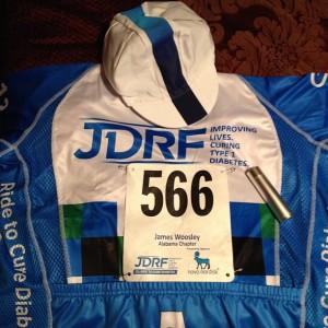 My JDRF Ride Gear