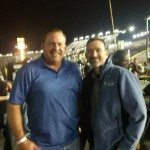 Mark and James at Charlotte Motor Speedway